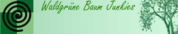 Waldgrüne Baum Junkies TS Banner